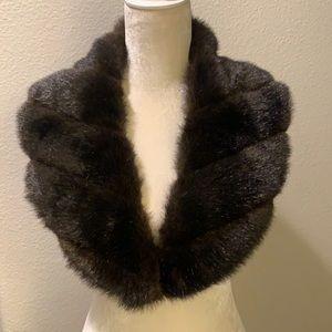 Faux Fur Luxurious Shawl